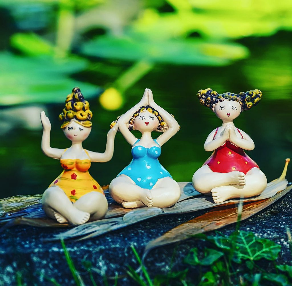 waarom yoga drie poses